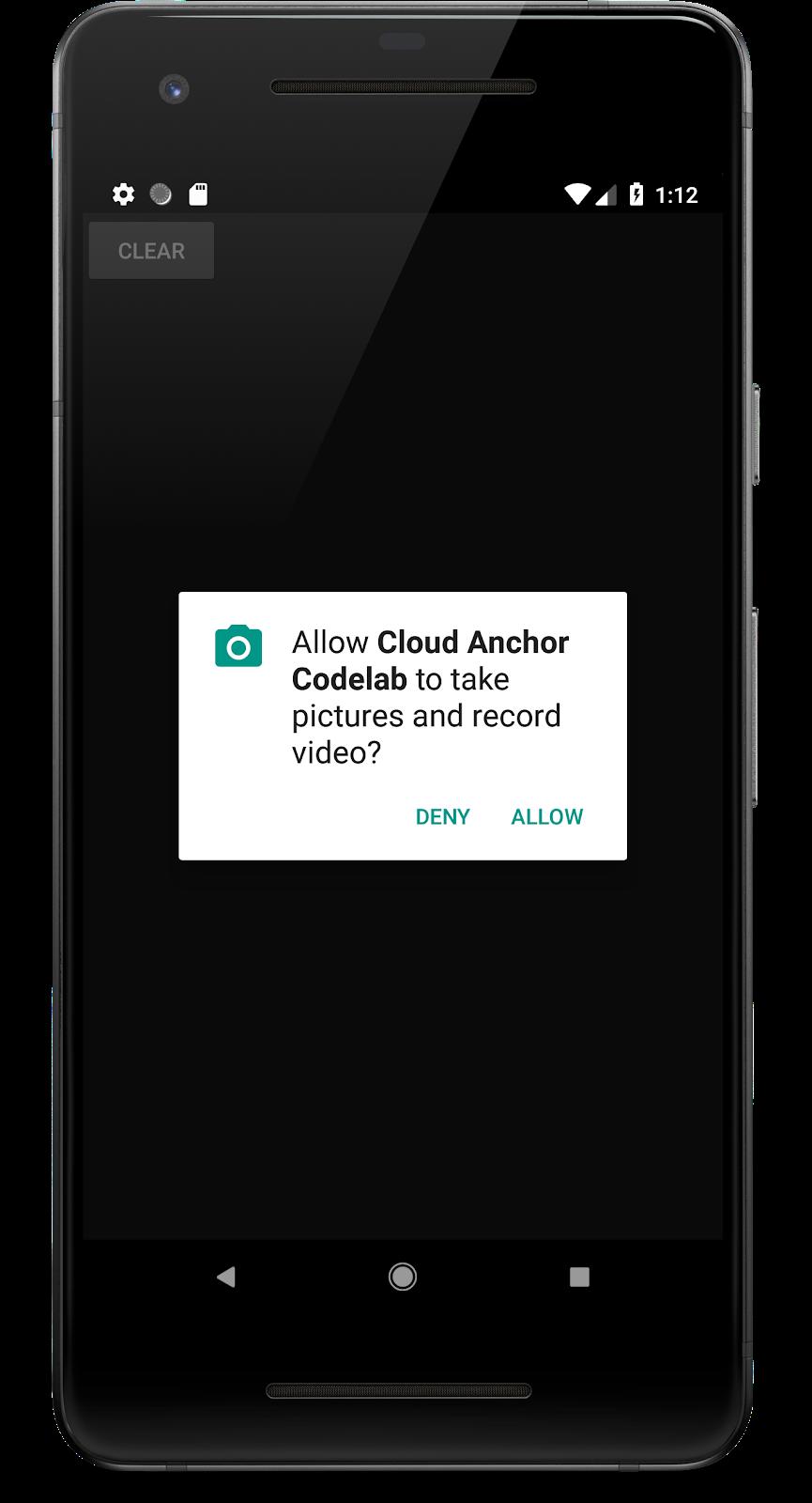 ARCore Cloud Anchors