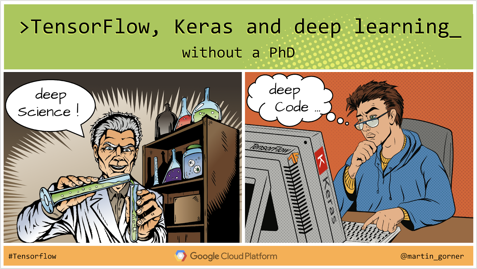 TensorFlow, Keras and deep learning, without a PhD