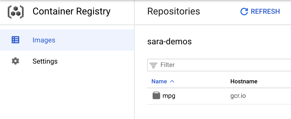 Container Registry preview