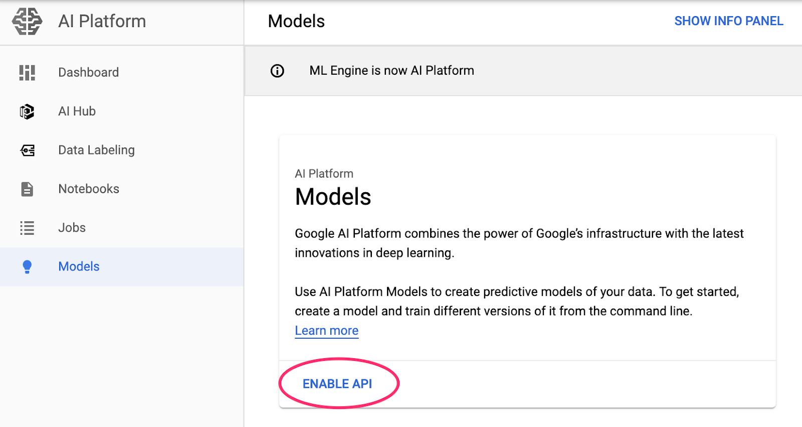 Analyzing a financial ML model deployed on Cloud AI Platform with