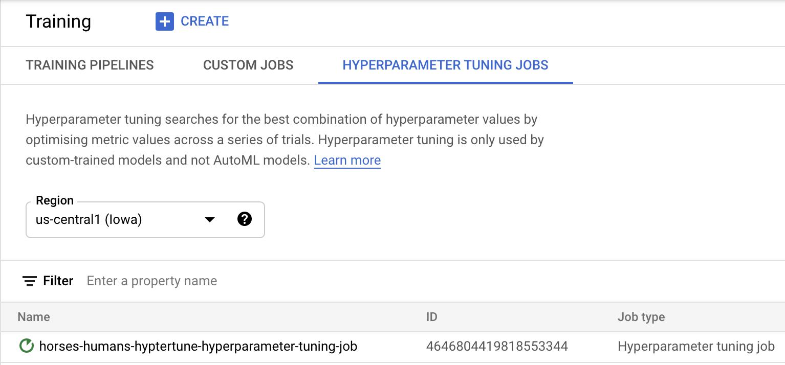 Hyperparam jobs